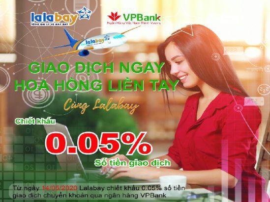 Lalabay Chính Thức Mở Tài Khoản Ngân Hàng VPBank